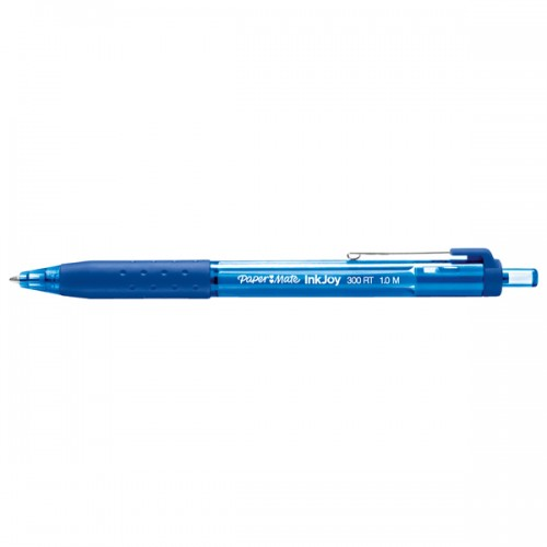 Penna sfera scatto INKJOY 300RT 1,0mm blu PAPERMATE