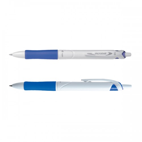 Penna a sfera scatto ACROBALL PURE WHITE Begreen 1,0mm blu PILOT