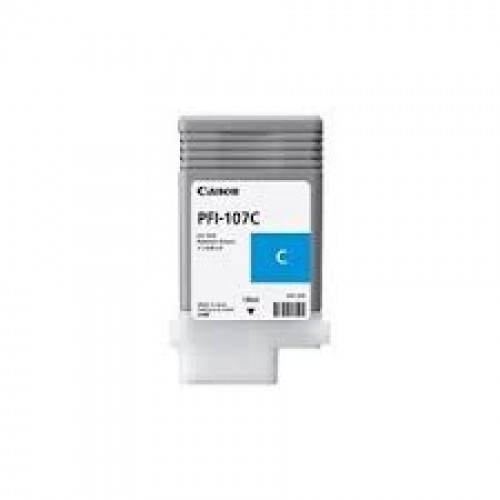 INK CARTRIDGE PFI-107C CIANO 130ml